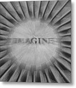 Imagine Zoom Metal Print