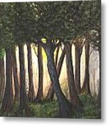 Imagined Forest Metal Print
