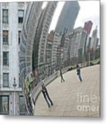 Imaging Chicago Metal Print