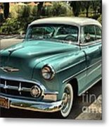 Img 8462_ Chevy Bellaire Metal Print