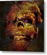 Imhotutt The Living Mummy Metal Print