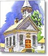 Immanuel Evangelical Lutheran Church Pilot Knob Missouri Metal Print