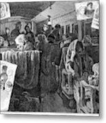 Immigrant Coach Car, 1881 Metal Print