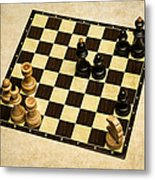Immortal Chess - Anand Vs Topalov 2005 Metal Print