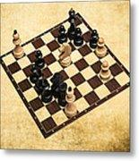 Immortal Chess - Byrne Vs Fischer 1956 Metal Print