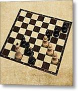 Immortal Chess - Kasparov Vs Topalov 1999 Metal Print