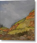 Imnaha Bluffs Metal Print
