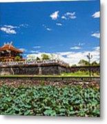 Imperial City Hue Vietnam Metal Print