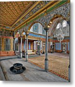 Imperial Hall Of Harem In Topkapi Palace Metal Print by Ayhan Altun