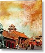 Imperial Palaces Of The Ming And Qing Dynasties In Beijing And Shenyang Metal Print