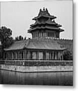 Imperial Reflections Metal Print