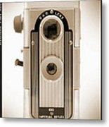 Imperial Reflex Camera Metal Print