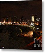 Jaffe At Night Metal Print