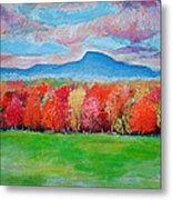 Impressionist New Jersey Autumn Metal Print