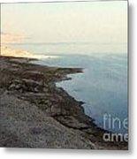 Impressionist Of The Dead Sea Metal Print