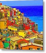 Impressionistic Photo Paint Gs 008 Metal Print