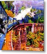 Impressionistic Photo Paint Gs 016 Metal Print by Catf