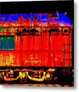 Impressionistic Photo Paint Gs 017 Metal Print