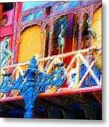 Impressionistic Photo Paint Ls 005 Metal Print