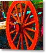 Impressionistic Photo Paint Ls 011 Metal Print