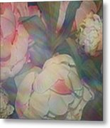Impressionistic Spring Bouquet Metal Print