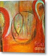 In A Bubble Metal Print