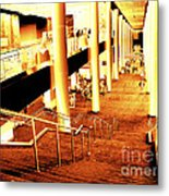 In A City Of Gold Metal Print