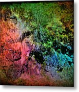 In A Colorful World Metal Print
