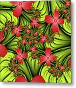 In A Flower Meadow Metal Print