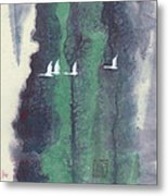 In A Forest Faraway-1 Metal Print