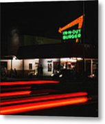 In And Out In Pasadena Metal Print