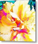 In Color Metal Print