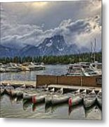 In For The Storm Metal Print
