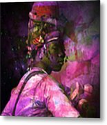 In Full Dress - Turkish Soldier Bashibazouk - Featured In The Abc -f- Feminine Group Metal Print