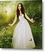 In Her Kingdom Metal Print