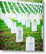 In Honor And Tribute Metal Print by Greg Fortier