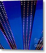 In Lights Abstract Metal Print