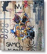 In Memory Basquiat Metal Print