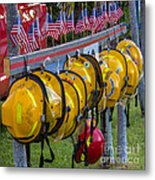 In Memory Of 19 Brave Firefighters  Metal Print