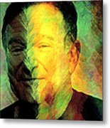 In Memory Of Robin Williams Metal Print