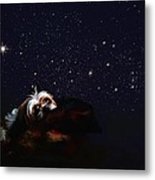 In One Of Those Stars Metal Print