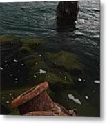 In Our Rusty Submarine Metal Print