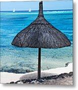 In Perfect Balance. Beach Life Metal Print