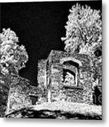 In Ruins Metal Print