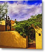 In Santa Fe - New Mexico Metal Print