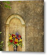 In The Alcove Metal Print