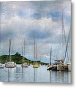 In The Bay Metal Print