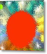 In the beginning 4. Morning of fourth day Metal Print