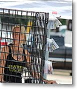 In The Bird Cage Metal Print