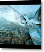 In The Blue Ocean Metal Print